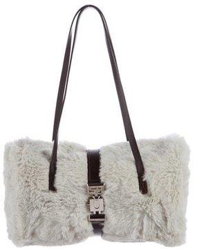 Sonia Rykiel Fur Shoulder Bag