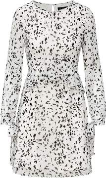 Sam Edelman Tiered Long Sleeve Dress