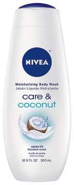 Nivea Care & Coconut Body Wash - 16.9oz