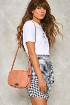 nastygal WANT Can't Quilt You Crossbody Bag