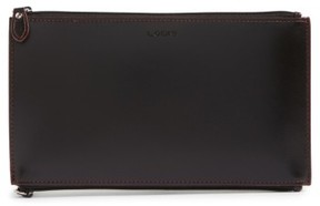 Women's Lodis Audrey - Lani Rfid Double-Sided Leather Zip Pouch - Black
