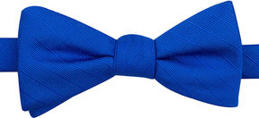 Jf J.Ferrar JF Solid Texture Stripe Pre-Tied Bow Tie