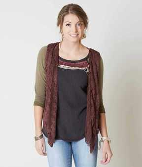 Daytrip Fringe Sweater Vest