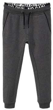 MANGO Message jogging trousers