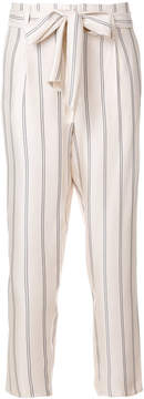 Forte Forte striped tapered trousers