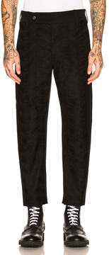 Ann Demeulemeester Flat Front Trousers