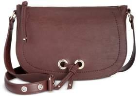Nine West Womens Bohemian Beltway Faux Leather Adjustable Crossbody Handbag