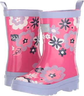 Hatley Sketchy Flowers Rain Boots Girls Shoes