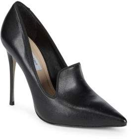Saks Fifth Avenue Point Toe Leather Pumps