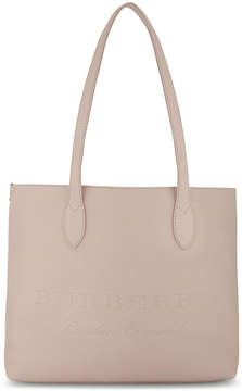 Burberry Embossed leather tote bag - PALE ROSE - STYLE