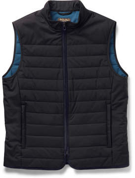 Loro Piana Quilted Storm System Shell Gilet