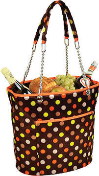 Picnic at Ascot Julia Dot Insulated Cooler Tote