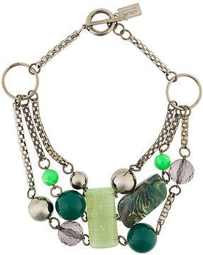 Armani Collezioni beaded necklace