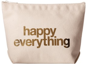 Dogeared - Happy Everything Foil Lil Zip Clutch Handbags