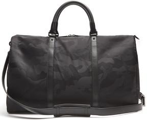 Valentino Camouflage-jacquard nylon holdall