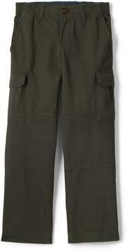 Lands' End Lands'end School Uniform Toddler Boys Iron Knee Pull On Cargo Pants