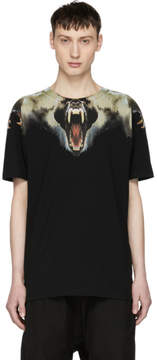 Marcelo Burlon County of Milan Black Monkeys T-Shirt