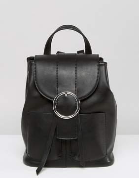 ASOS Buckle Backpack