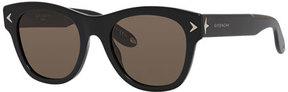 Givenchy Square Acetate Sunglasses, Black