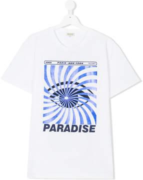 Kenzo eye paradise print T-shirt