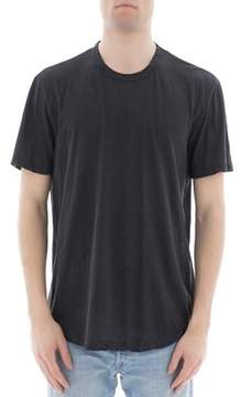 James Perse Men's Grey Cotton T-shirt.