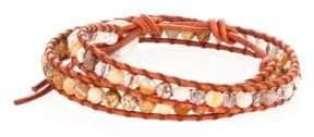 Chan Luu African Opal Mix Double-Wrap Bracelet
