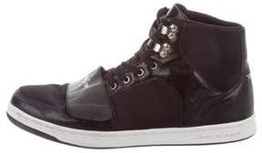 Creative Recreation Leather-Paneled High-Top Sneakers