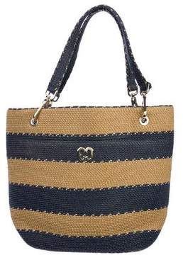 Eric Javits Striped Woven Tote