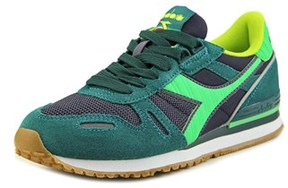 Diadora Titan Ii Women Round Toe Synthetic Green Sneakers.