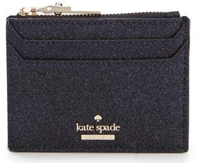 Kate Spade Burgess Court Lalena Glitter Card Case