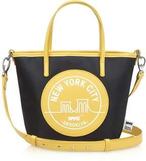 Meli-Melo Brooklyn Yellow Paige Mini Tote Bag