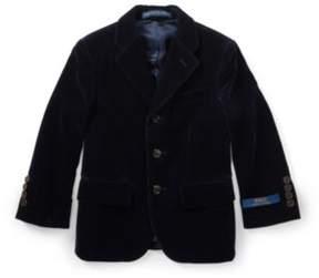 Polo Ralph Lauren Velvet Sport Coat Navy 2T