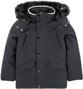 BOSS Fleece-lined parka