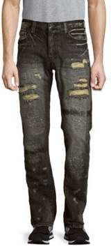 PRPS Ripped Five-Pocket Jeans