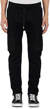 Helmut Lang Men's Neoprene Cargo Jogger Pants
