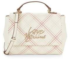Love Moschino Metallic Logo Crossbody Bag