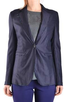 Jacob Cohen Women's Blue Wool Blazer.