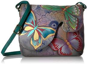 Anuschka Anna by Handpainted Leather Women's Convertible Shoulder Bag