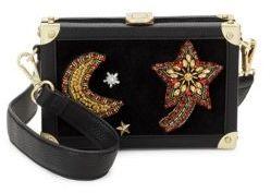 Sam Edelman Aeron Hard Case Leather Crossbody Bag
