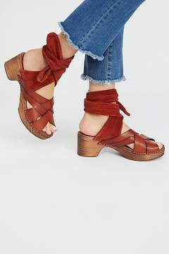 Free People Fp Collection Emmy Wrap Clog