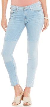 Big Star Alex Patchwork Stretch Ankle Skinny Jeans