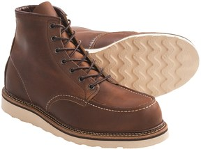 """Red Wing Shoes 1907 6"""" Moc-Toe Boots - Leather, Factory 2nds (For Men)"""