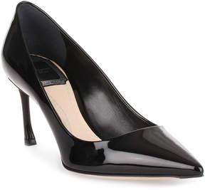 Christian Dior Essence 70 patent black pump