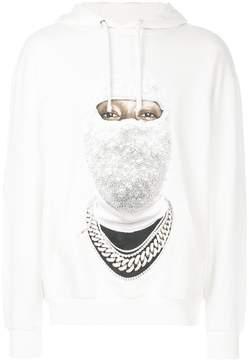 Ih Nom Uh Nit face gold hoodie