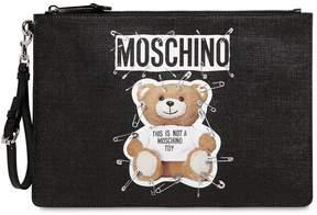 Moschino Teddy Bear Medium Pouch