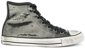 Converse sequin embellished All-Star sneakers