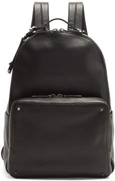 VALENTINO Rockstud-embellished leather backpack