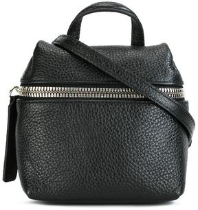 Kara front zipped crossbody bag