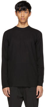 Rick Owens Black Merino Geo Sweater