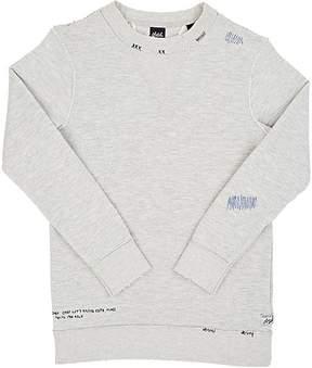 Scotch Shrunk Distressed Cotton-Blend Sweatshirt